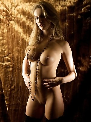 Lenka Janistinova is a pure vision of sexual beauty as she poses her absolutely stunning Bavarian body on a fur-draped room.